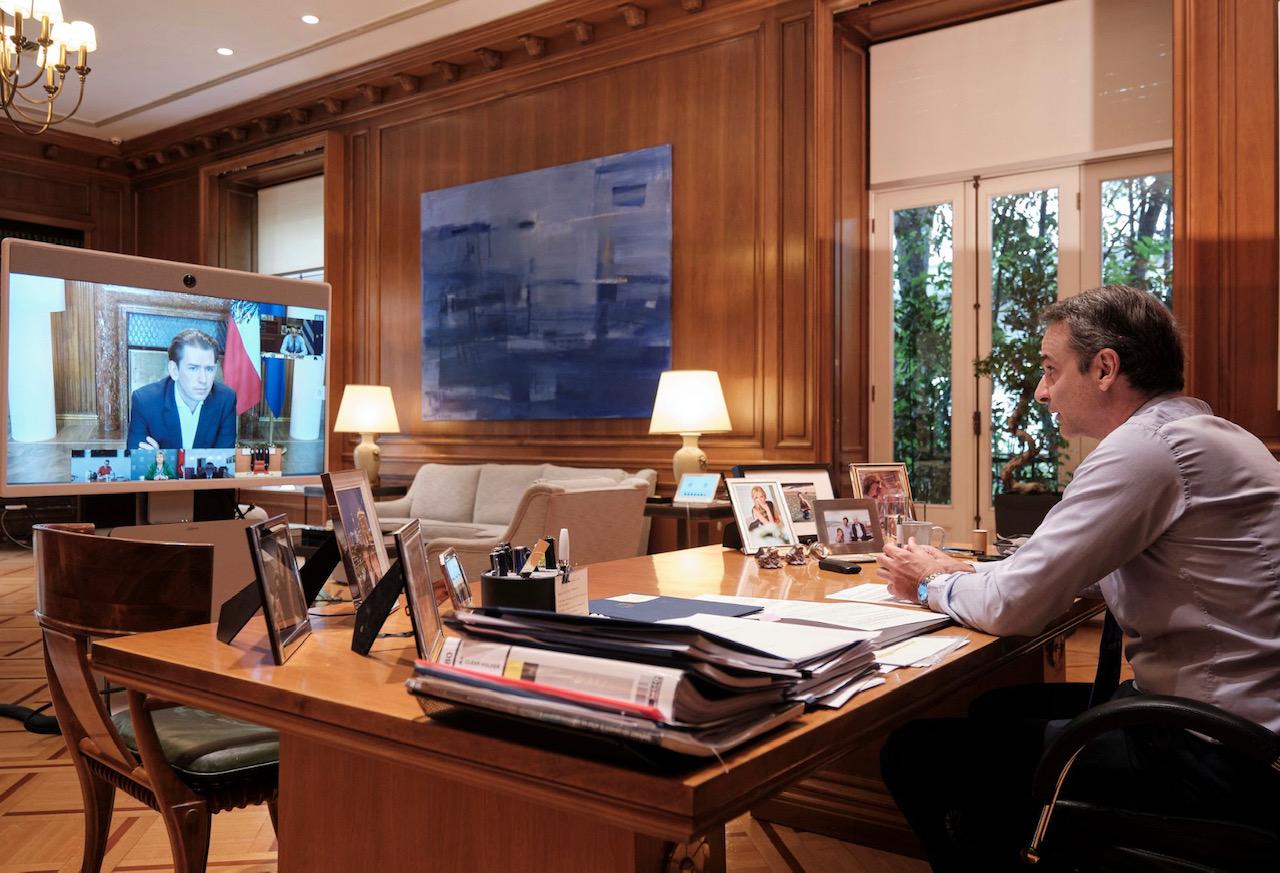 Grčka: Grčki premijer učestvovao u radu 3. telekonferencije Upravljanje grupom Smart Covid-19