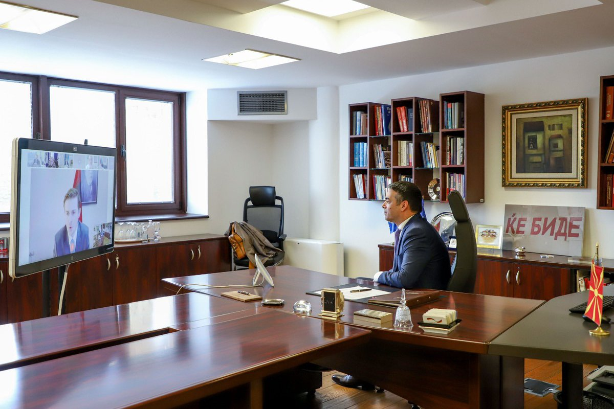 Severna Makedonija: Prvo učešće Dimitrova u Savetu Jadransko-jonske inicijative