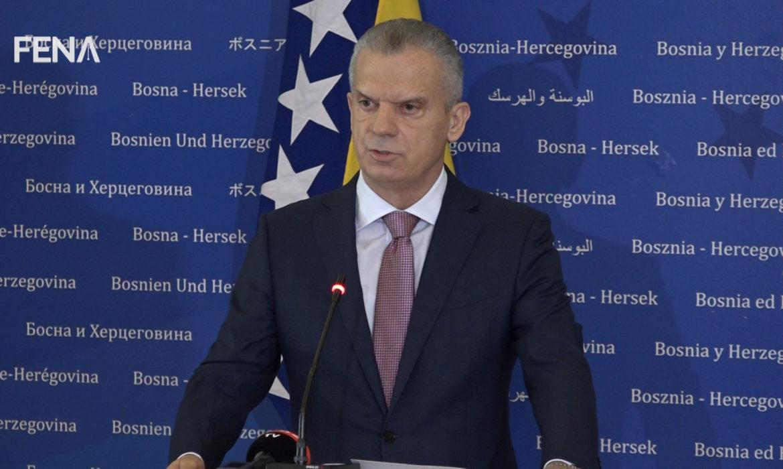 BiH: Ministar bezbednosti najavio ostavku