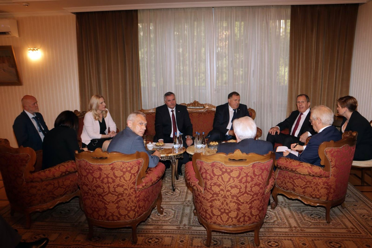 BiH: Delegacija Republike Srpske sastala se u Beogradu sa ruskim ministrom spoljnih poslova Lavrovim