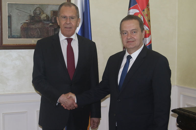 Srbija: Lavrov i Dačić razgovarali o jačanju odnosa