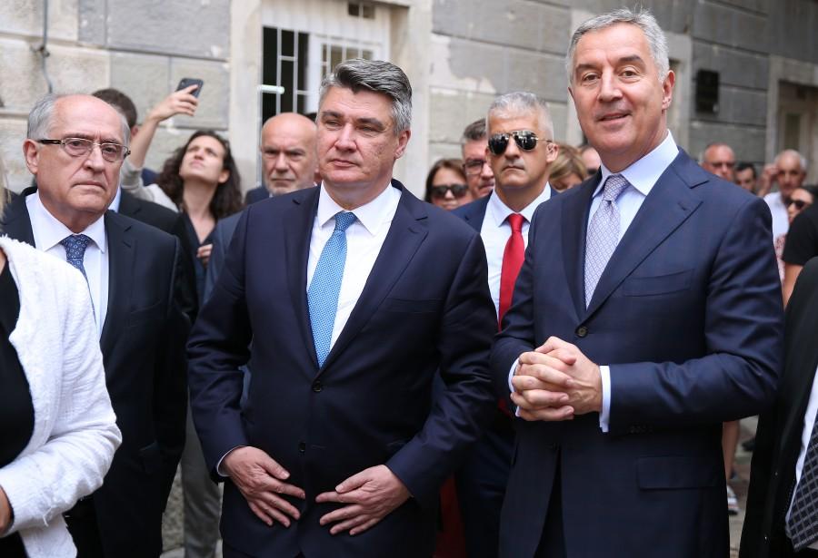 Crna Gora: Hrvatski predsednik Milanović u službenoj poseti