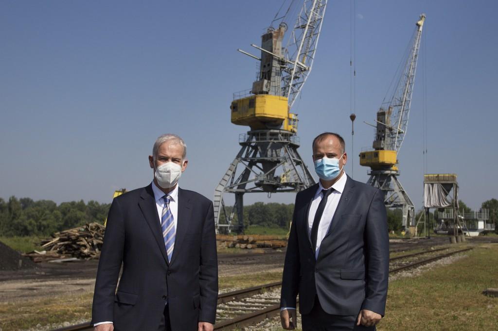 BiH: Kran u luci Brčko biće modernizovan