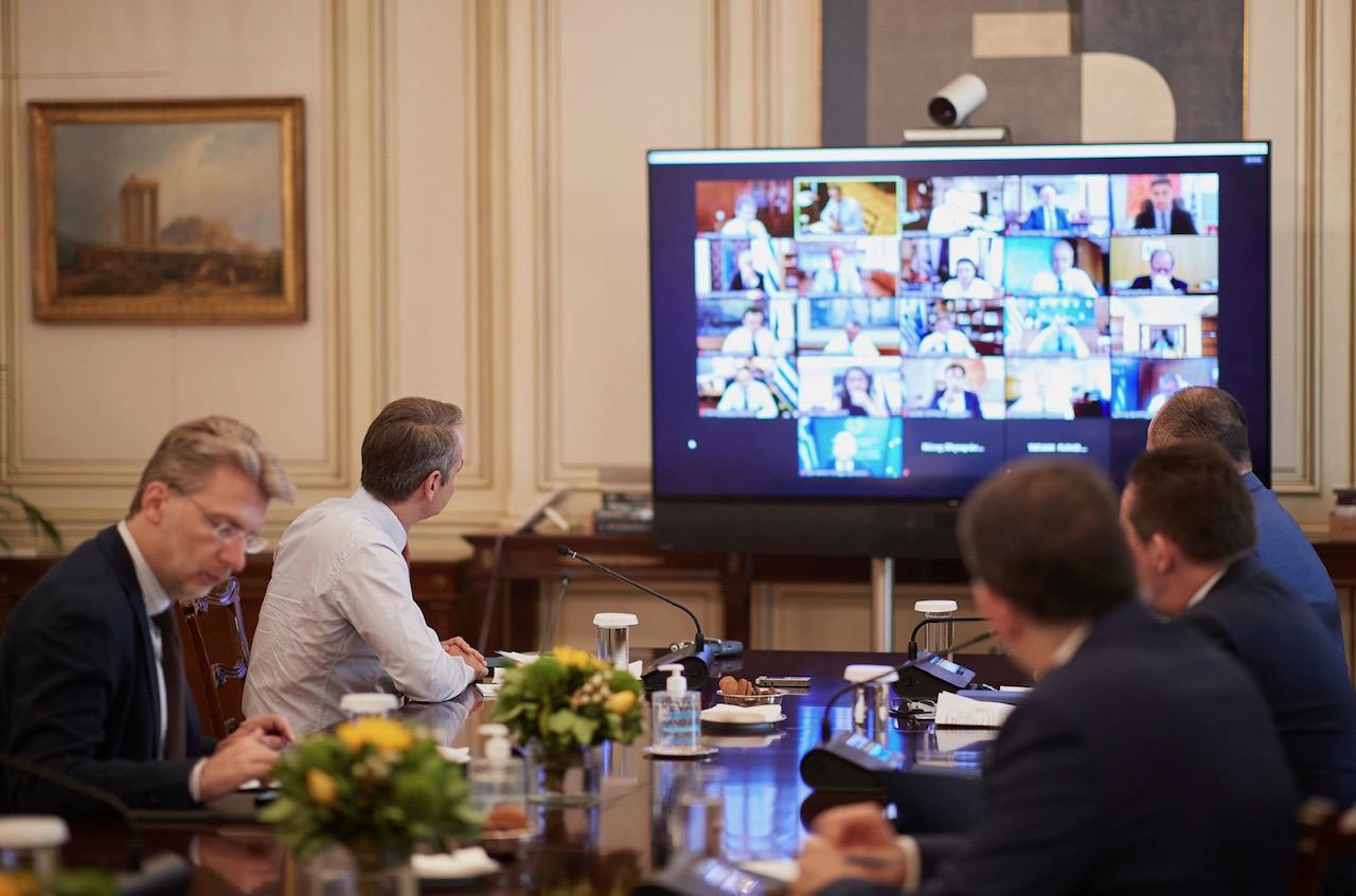 Grčka: Vlada se sastala pod predsedavanjem premijera Mitsotakisa