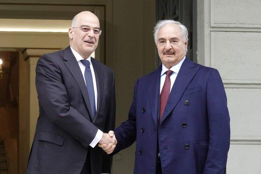 Grčka: Dendias putuje u Tobruk na sastanak sa Salehom, koji traži egipatsku vojnu intervenciju u Libiji