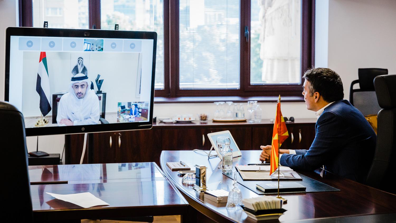 Severna Makedonija: Dimitrov održao videokonferenciju sa kolegom iz UAE