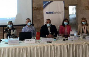 Crna Gora: Misija OEBS-a podržava izradu Strategije policije
