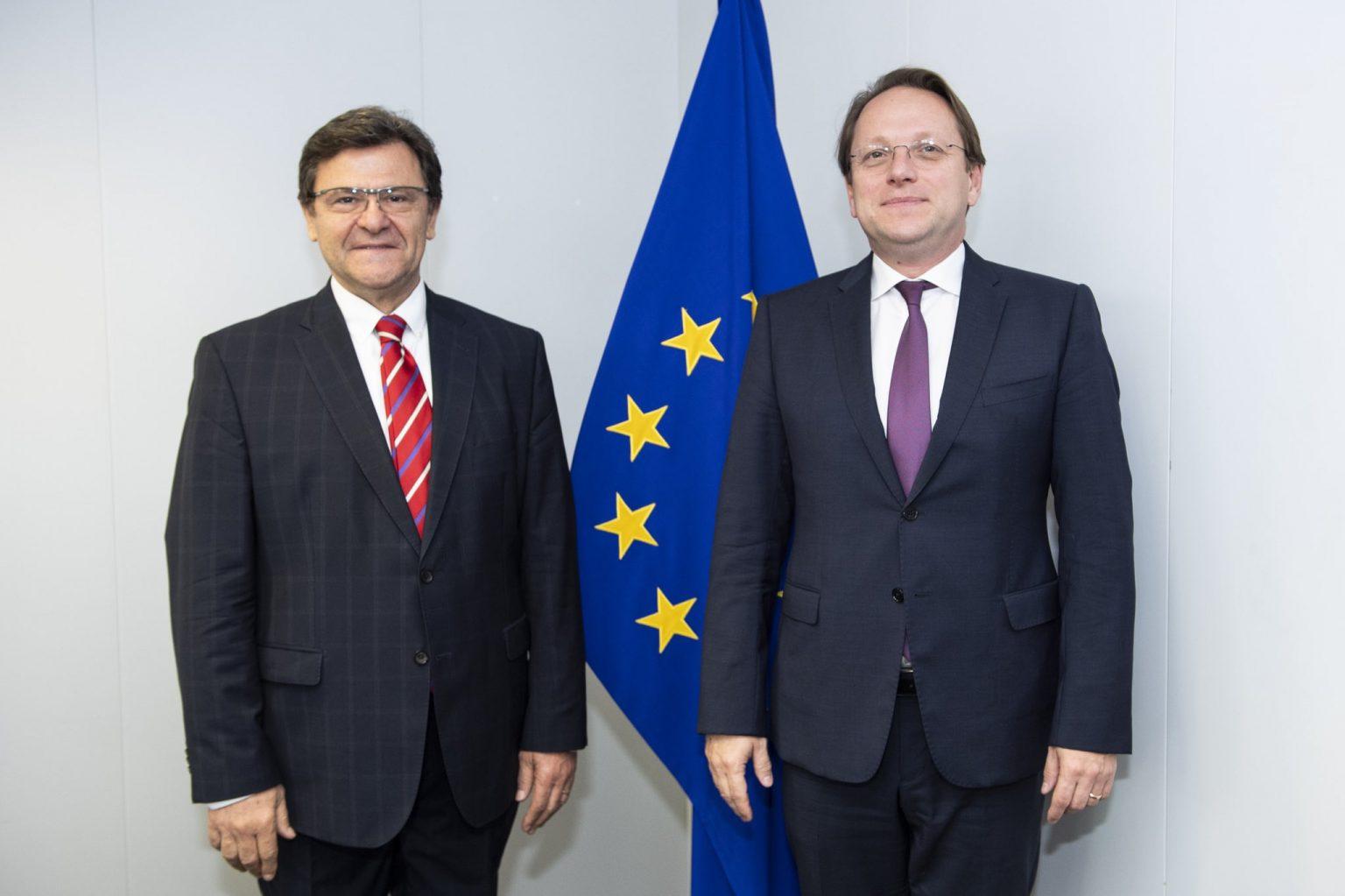 Albanija: Mazi i Varhelyi razgovarali o pripremama za prvu međuvladinu konferenciju