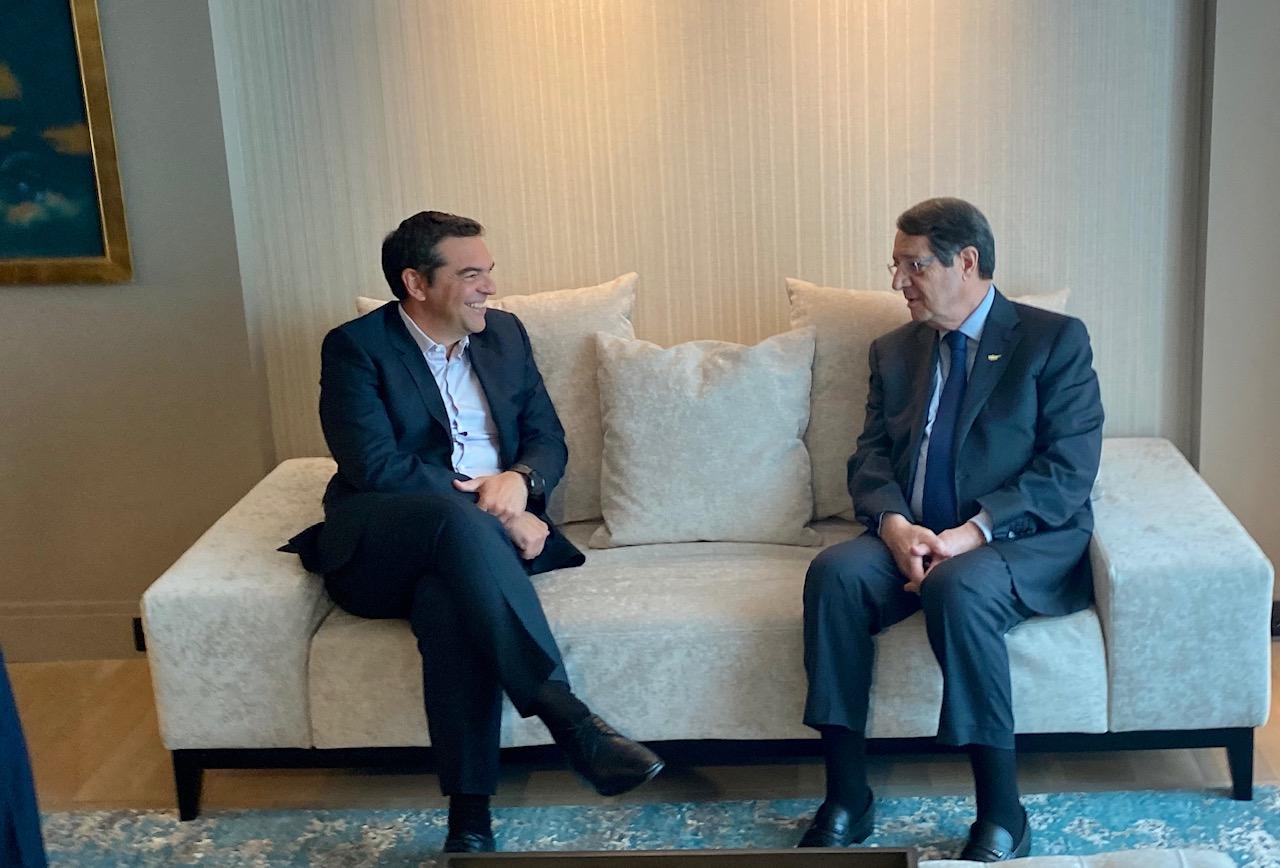 Grčka: Anastasiades se sastao sa Tsiprasom