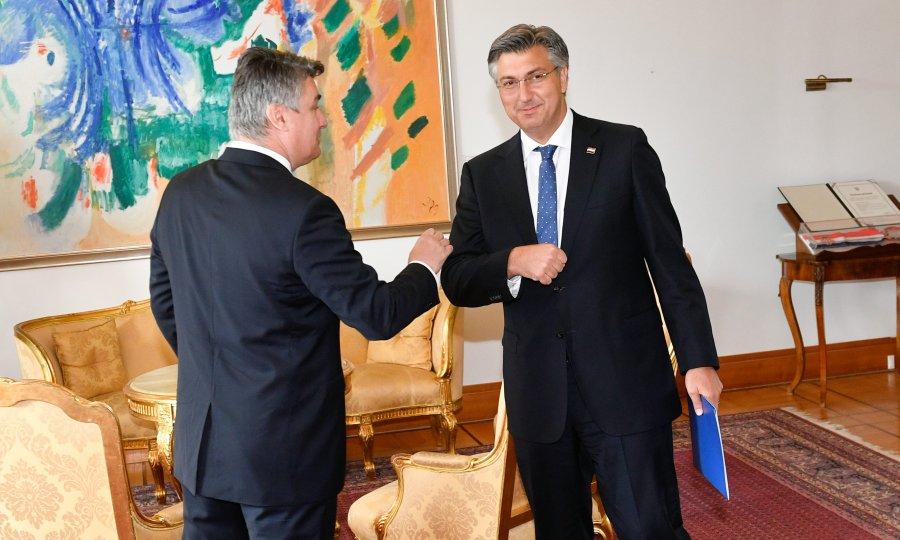 Hrvatska: Milanović i Plenković nastavljaju sa verbalnim sukobima u javnosti
