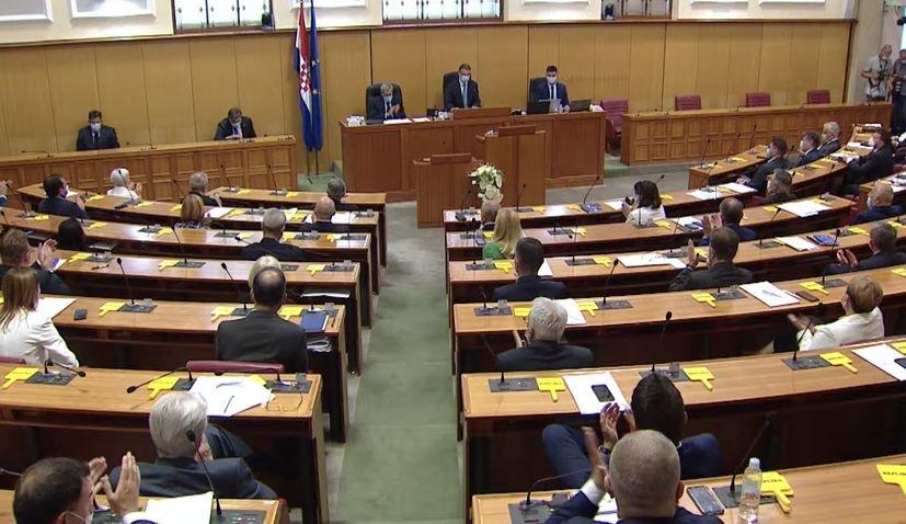Hrvatska ima novi Parlament
