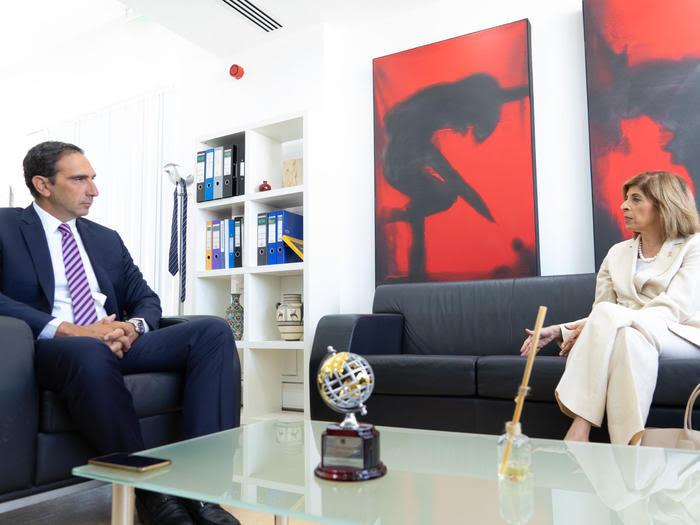 Kipar: Ministar zdravlja se sastao sa evropskom komesarkom za zdravlje i bezbednost hrane