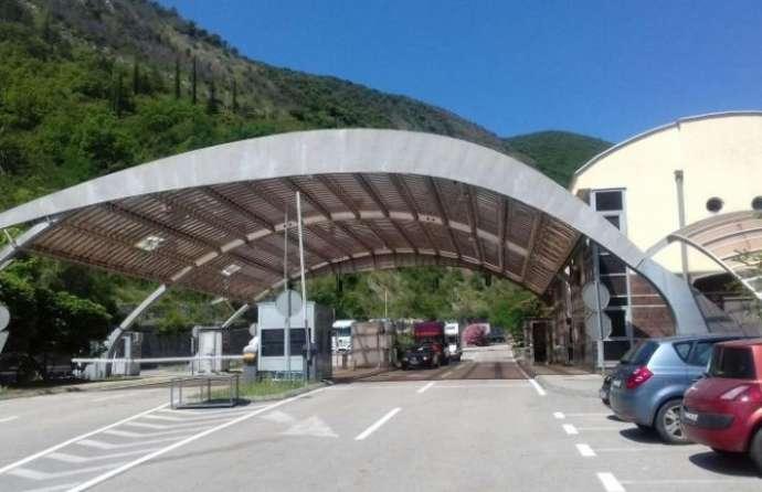 Crna Gora: 20% prometa na graničnim prelazima u odnosu na prošlu godinu