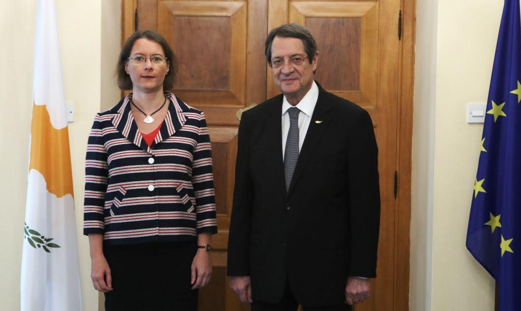 Kipar: Anastasiades se sastao sa odlazećom ambasadorkom Francuske