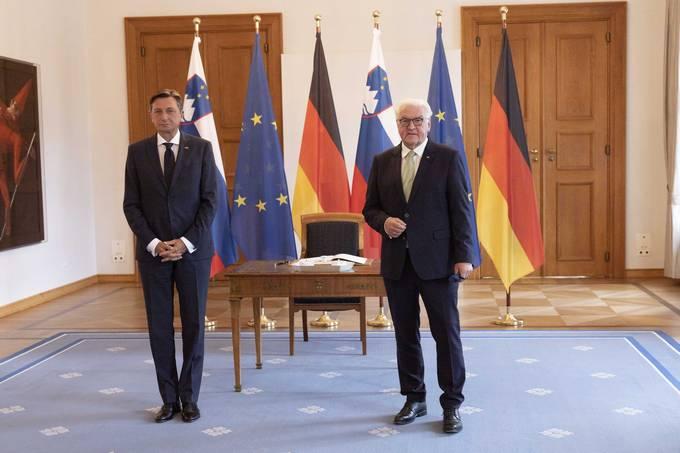Predsednik Slovenije Borut Pahor se sastao sa nemačkim predsednikom Steinmeierom u Berlinu