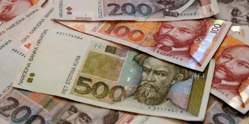 Hrvatska: Kuna prema evru u oktobru depresirala za 0,3% u poređenju sa septembrom ove godine