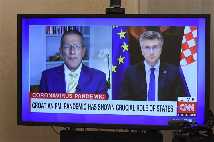 """Hrvatska: Otvaranje granica je bilo """"kalkulisani rizik"""", kaže premijer Plenković za CNN"""