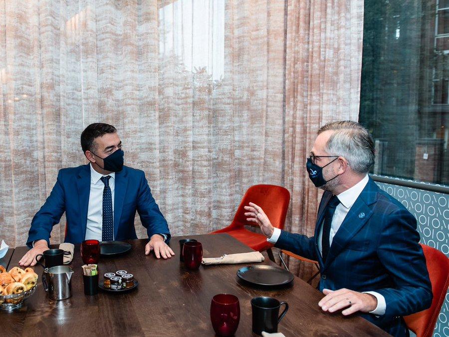 Dimitrov i Roth na sastanku potvrdili da Severna Makedonija ostaje prioritet nemačkog predsedavanja EU