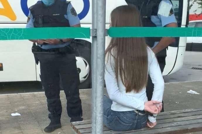 Slovenija: Policija pod kritikama zbog slučaja maloletnice koja nije htela da nosi masku