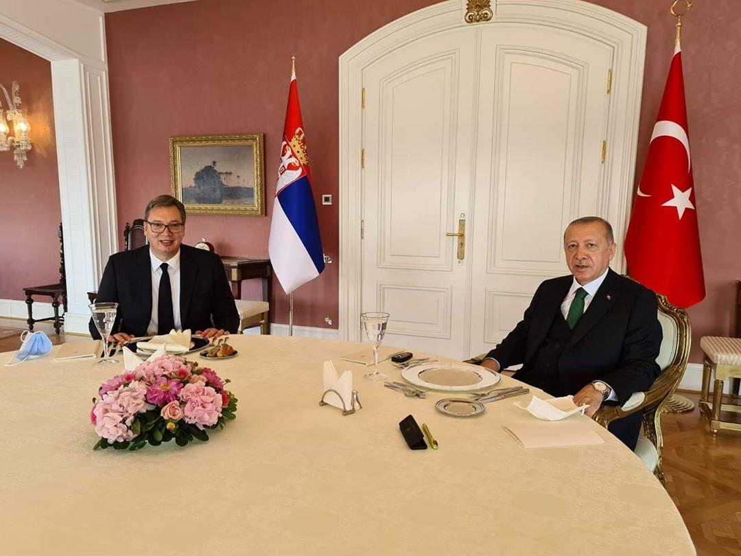 Srbija: Vučić i Erdogan razgovarali o političkoj saradnji i investicijama
