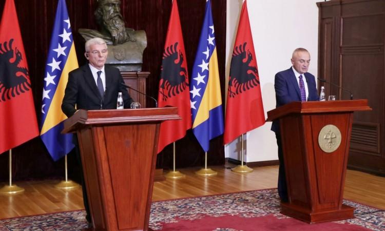 Predsedavajući Predsedništva BiH Džaferović u Albaniji: BiH želi da otvori ambasadu u Tirani