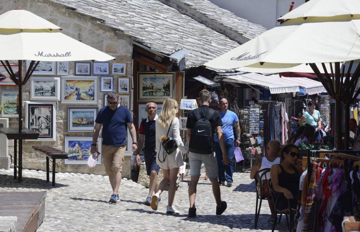 BiH: Značajan pad dolaska turista u odnosu na prošlu godinu