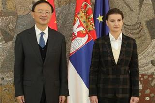 Brnabić: Srbija će nastaviti strateško partnerstvo sa Kinom