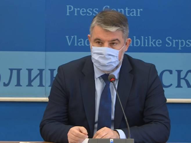 Šeranić: Broj zaraženih u Republici Srpskoj raste
