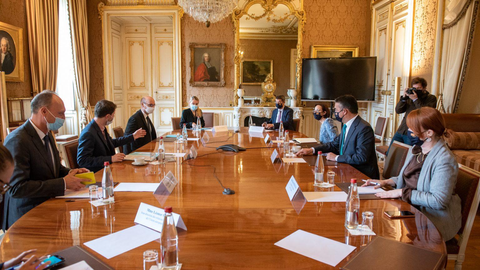 Dobijanje francuske podrške nije lagan posao, kaže Dimitrov
