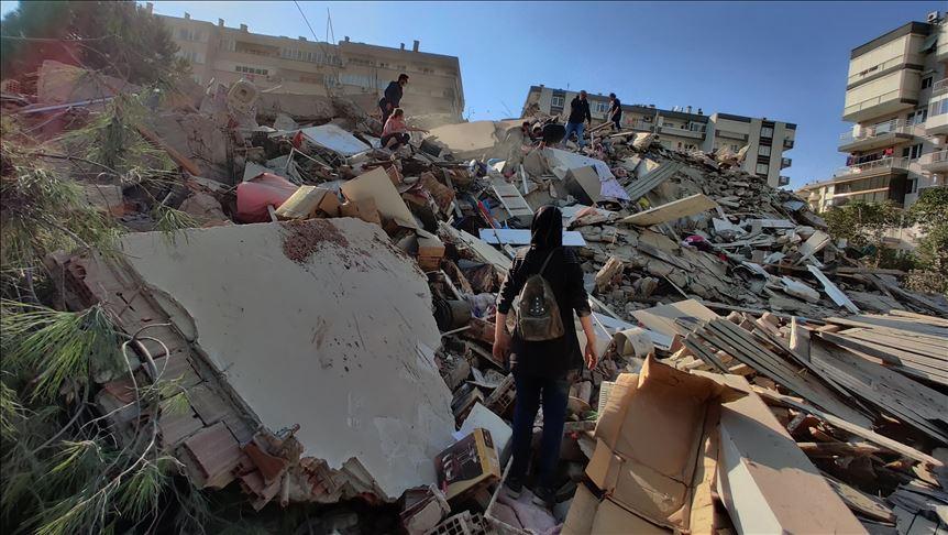 Zemljotres jačine 6,7 stepeni potresao Istočni Egej, velika šteta u Izmiru i na Samosu