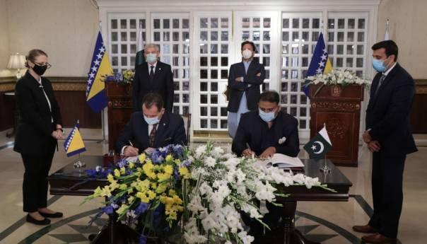 BiH: Potpisan sporazum o readmisiji s Pakistanom