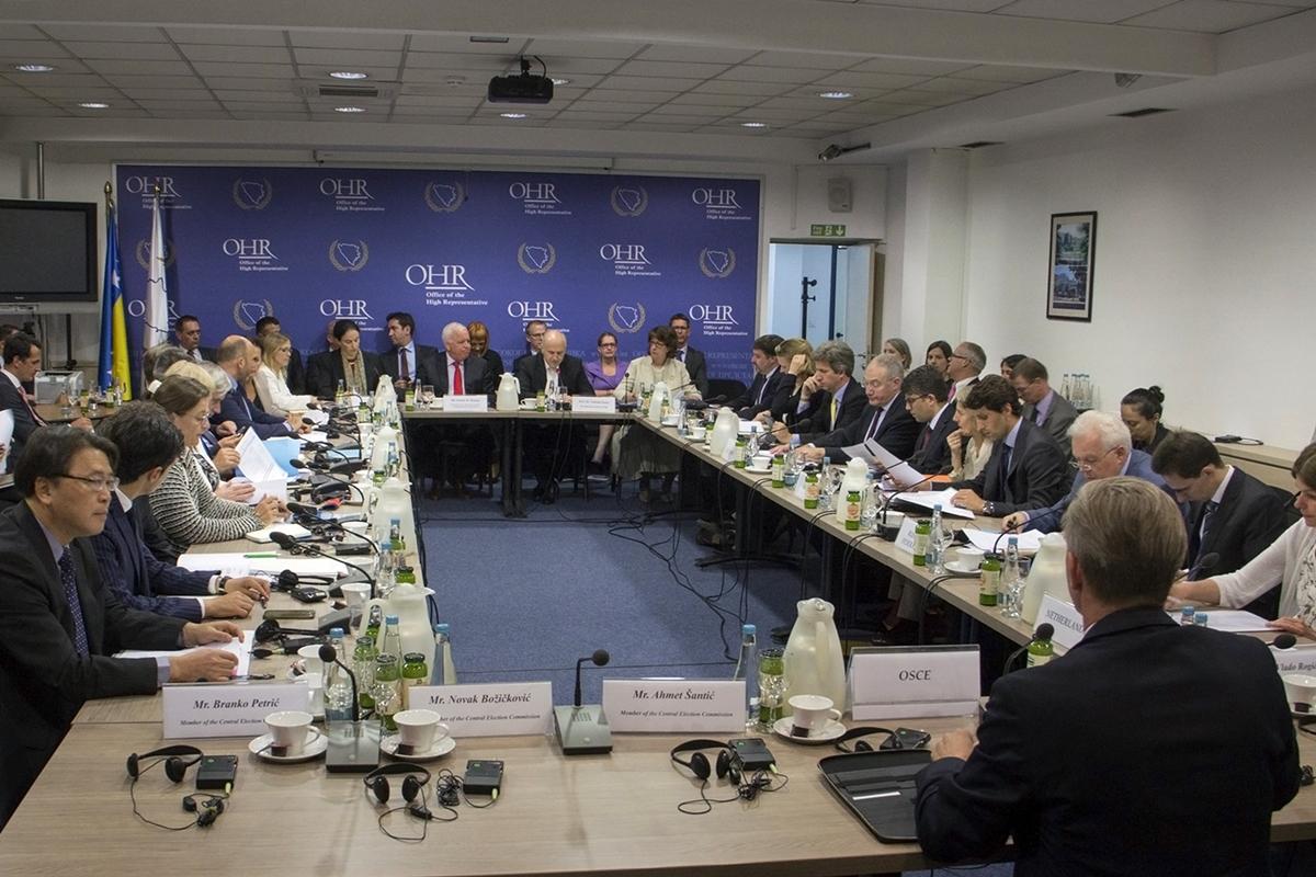 BiH: PIC i šefovi međunarodnih oranizacija pozivaju građane da izađu na glasanje uz poštivanje zaštitnih mera