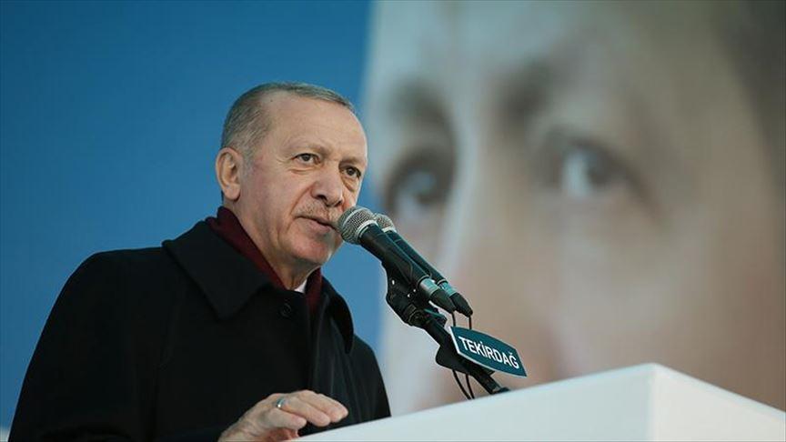 Erdoan: Postizanje naših ciljeva do 2023. godine važnije nego ikad