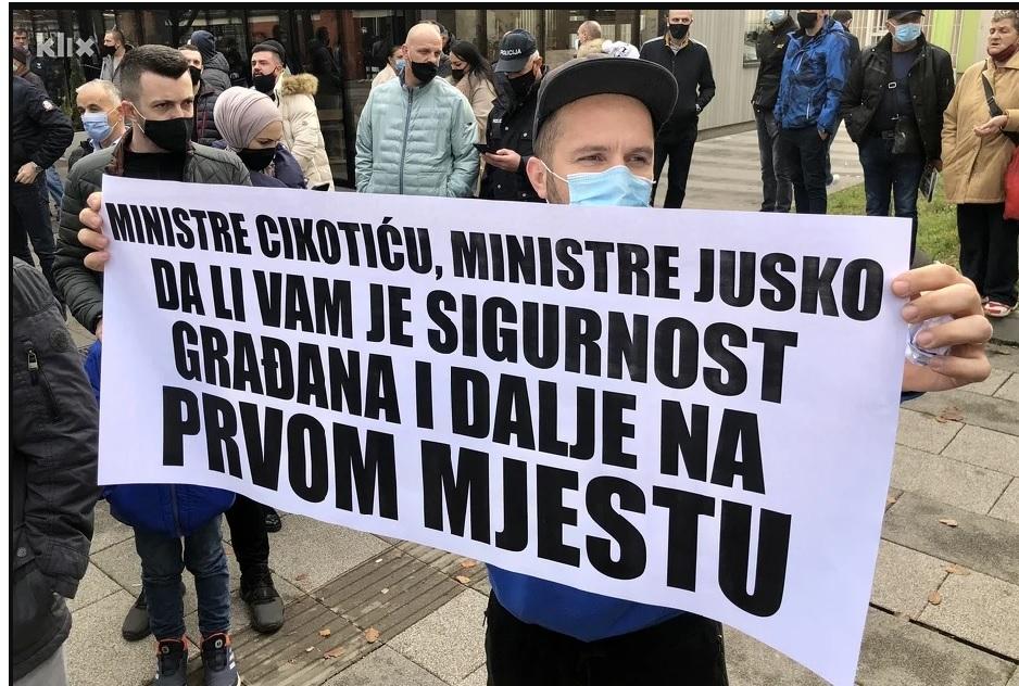 BiH: Migranti ubili jednu osobu a dve provredili, građani traže zaštitu