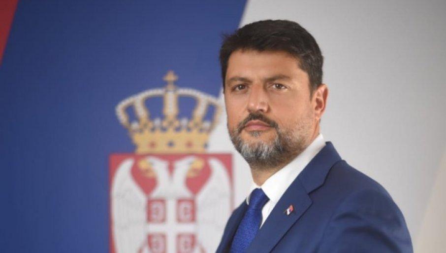 Crna Gora: Ministarstvo spoljnih poslova ostaje pri odluci da protera ambasadora Božovića