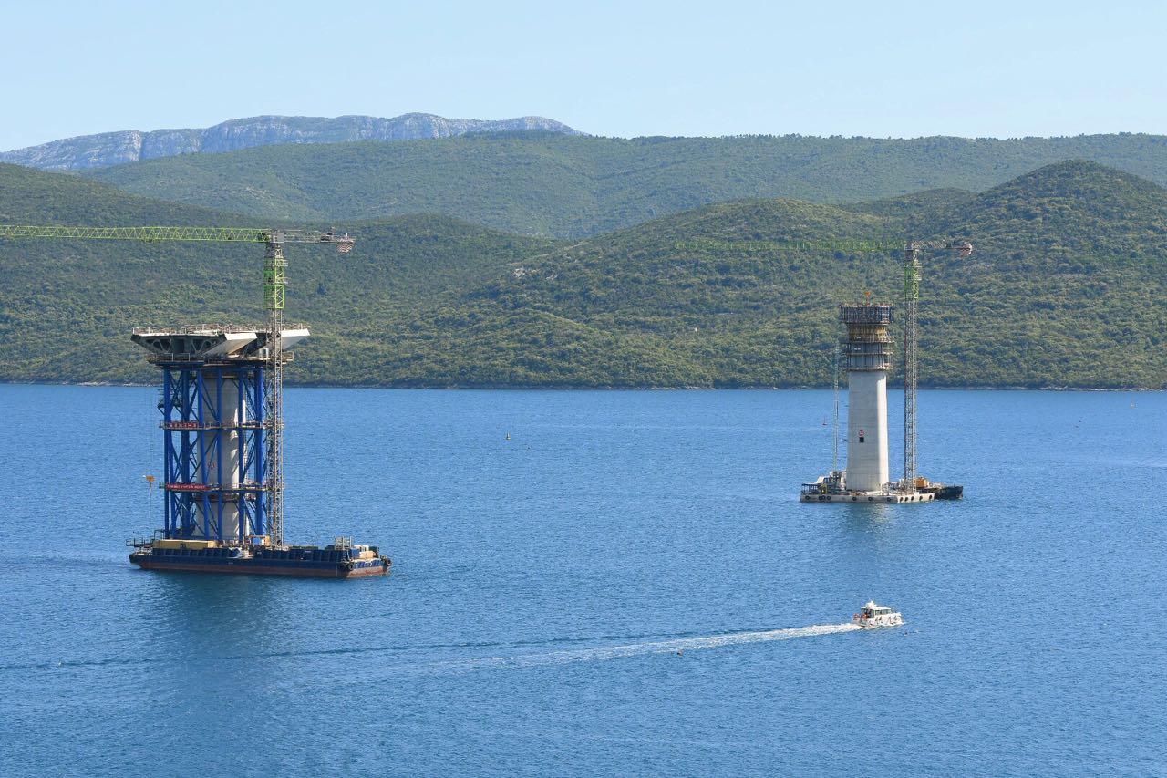 Hrvatska: Izgradnja Pelješkog mosta ide dobro, kaže ministar Butković