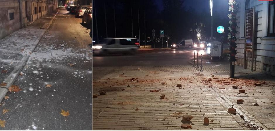 Hrvatska: Snažan zemljotres pogodio centralni region