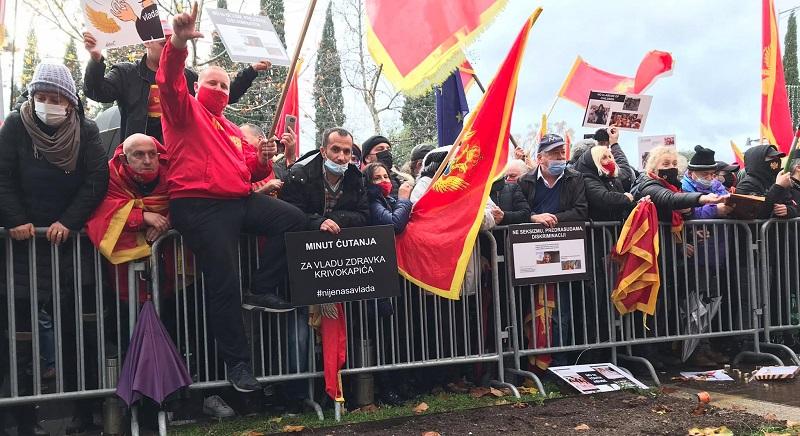Crna Gora: Protest zbog izmena Zakona o slobodi veroispovesti
