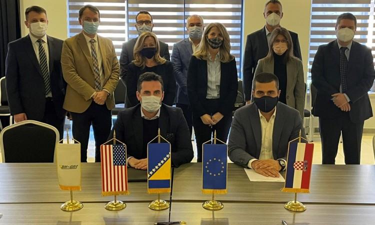 BiH: Plinacro i BH-Gas nastavljaju rad na Južnoj interkonekciji