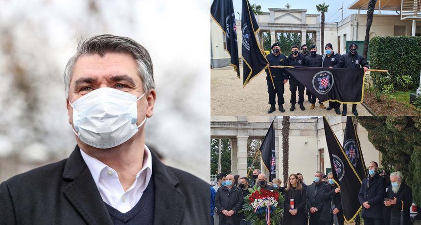 Hrvatska: Predsednik Milanović napustio je obeležavanje ratne operacije Maslenica