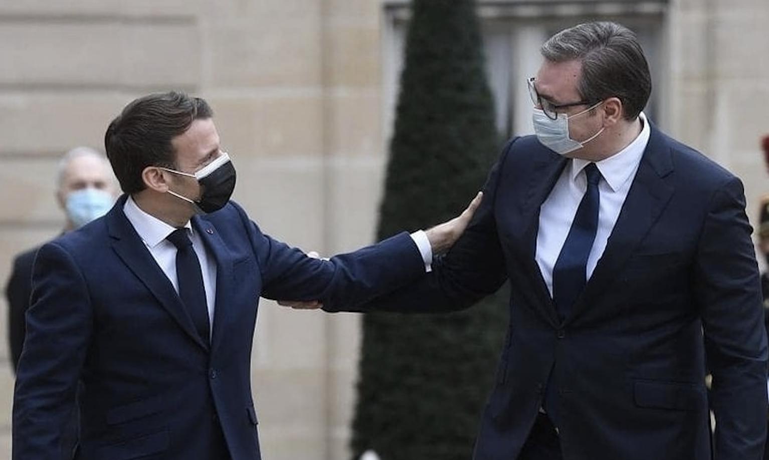 Vučić: Imam podršku francuskog predsednika