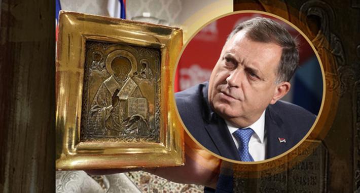BiH: Dodik u Tužilaštvu BiH saslušan u vezi s ukrajinskom ikonom