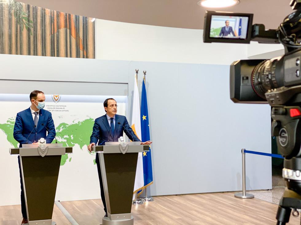 Slovenija – Kipar: Christodoulides je podržao napore Slovenije da se pridruži MED7