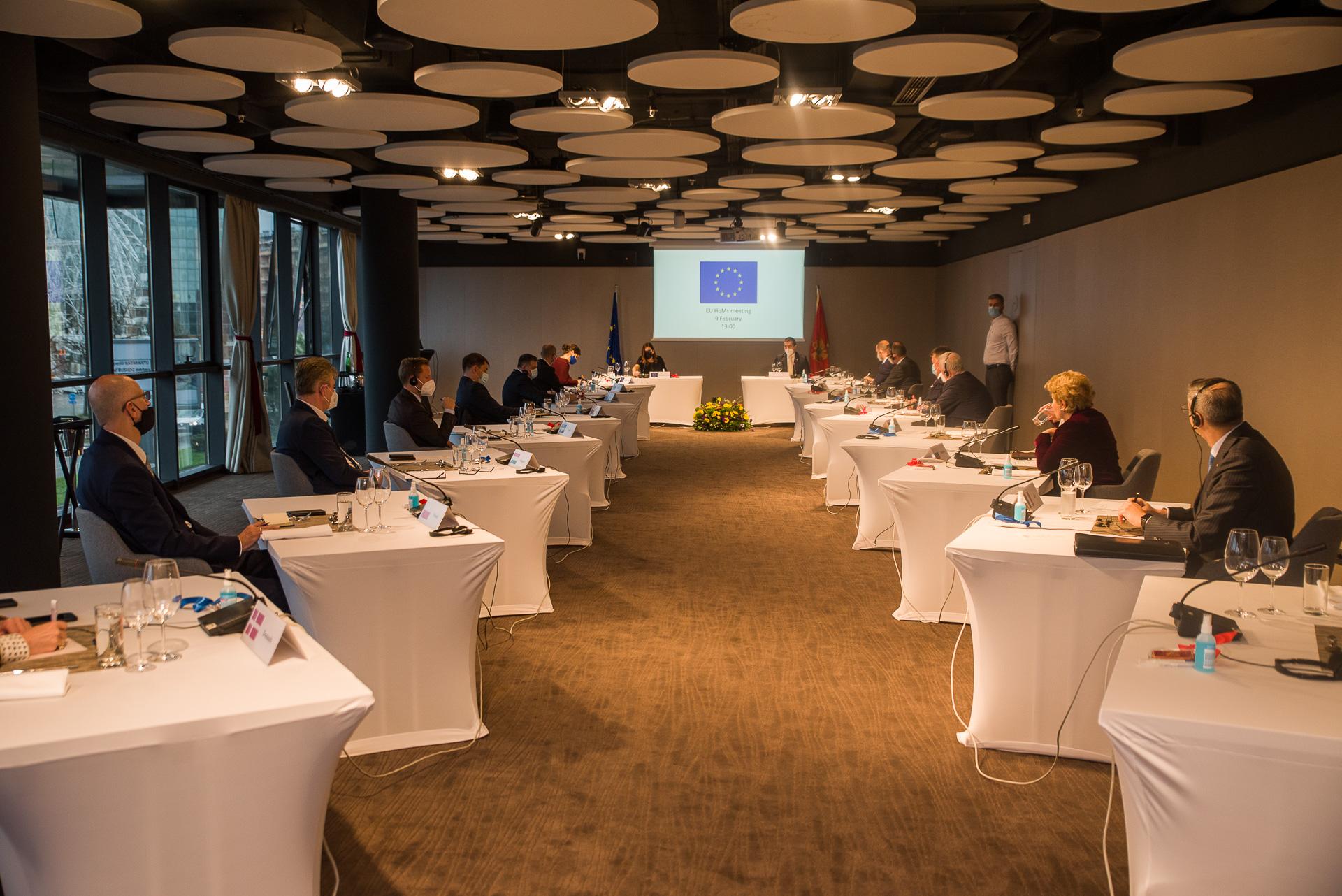 Crna Gora: Bečić na radnom ručku sa ambasadorima EU