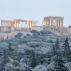 Grčka: Ekstremna hladnoća i snežne padavine pogodile Atinu