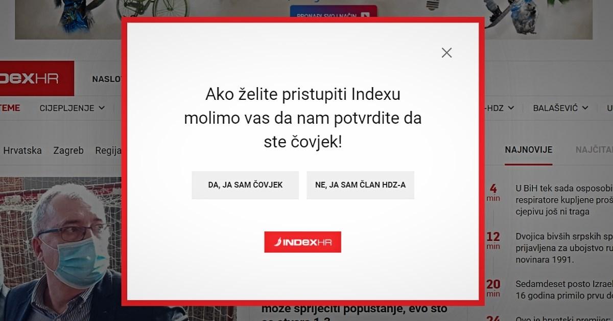 """Hrvatska: Internet """"pop-up"""" prozor postao glavno političko pitanje"""