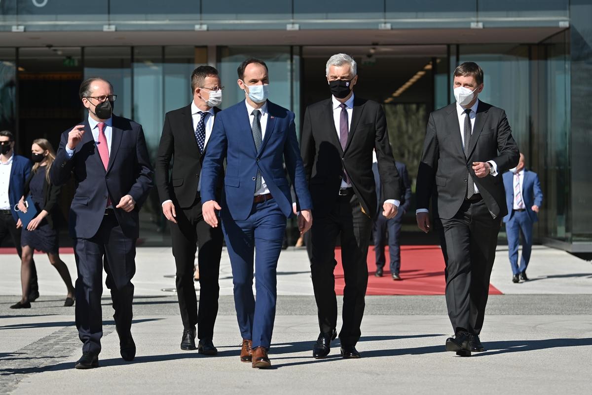 Slovenija: Sastanak ministara spoljnih poslova Grupe C5