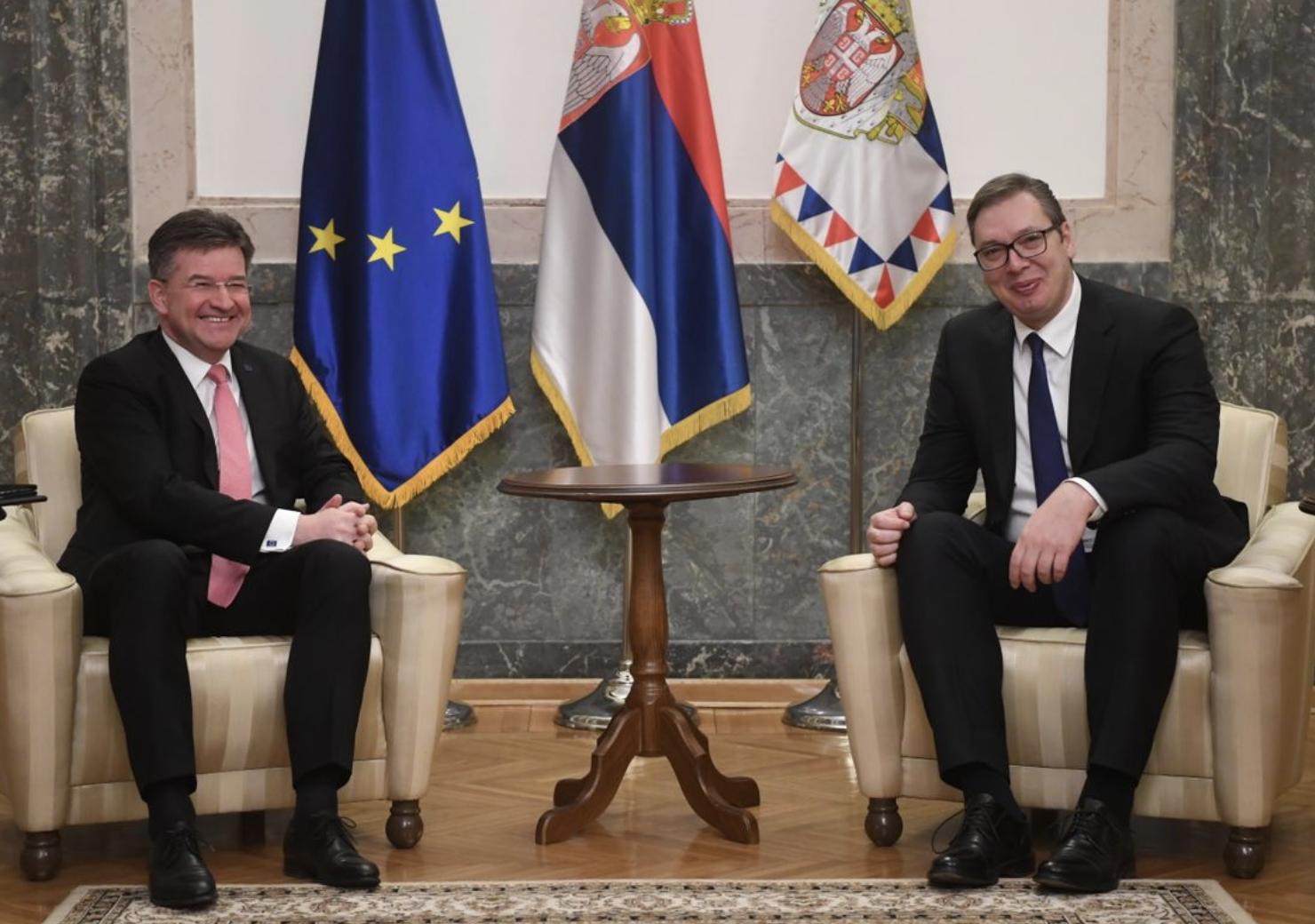 Srbija: Sastali se Vučić i Lajčak