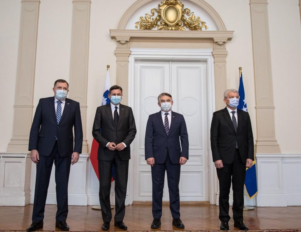BiH: Pahor u poseti Sarajevu, donirao vakcine