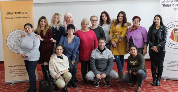 Misija OEBS-a u BiH podržava Mesec dana ženskog romskog aktivizma
